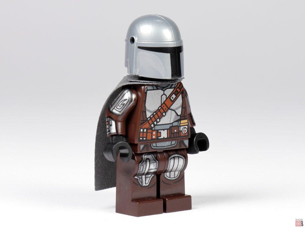 LEGO 75299 - Der Mandalorianer in Beskar-Rüstung, vorne rechts | ©Brickzeit