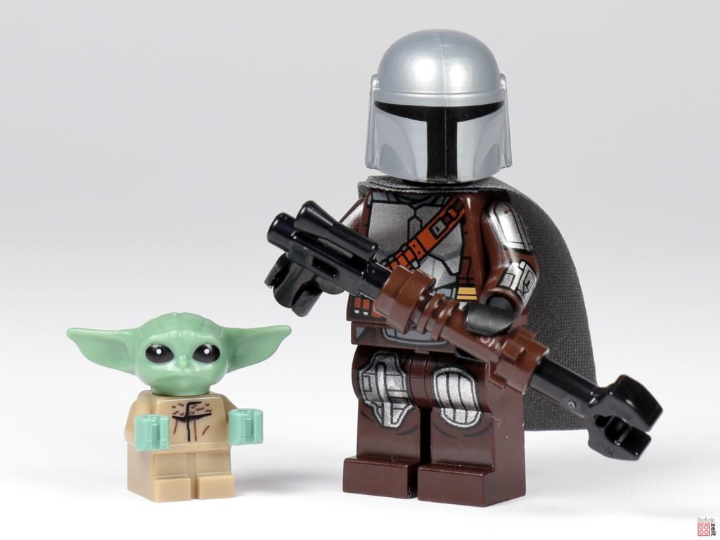 LEGO 75299 - The Mandalorian und Baby Yoda | ©Brickzeit