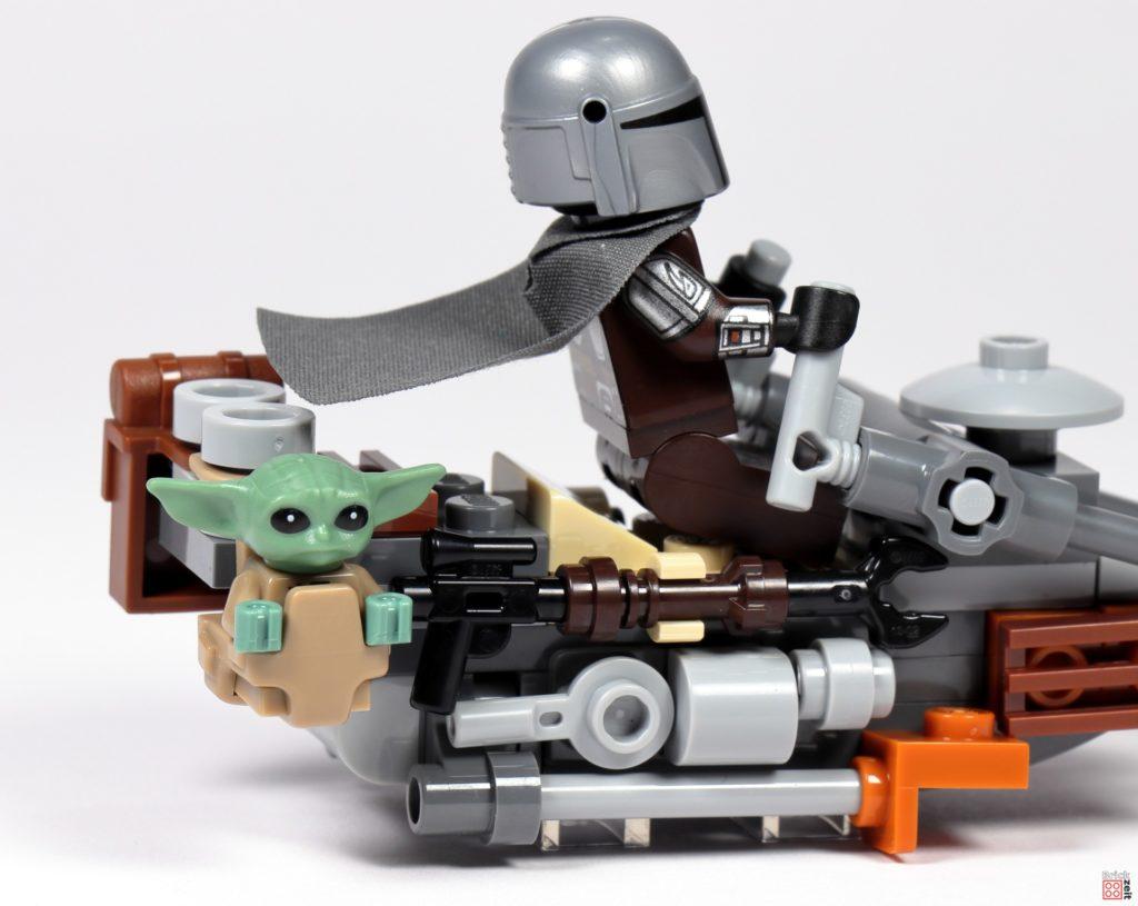 LEGO Star Wars 75299 - Baby Yoda in der Tasche | ©Brickzeit