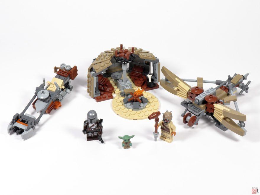Review - LEGO Star Wars 75299 Ärger auf Tatooine | ©Brickzeit