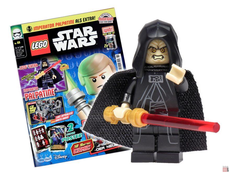 LEGO® Star Wars™ Magazin Nr. 69 (März 2021) mit Imperator Palpatine