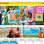 LEGO Store Kalender März 2021 in USA