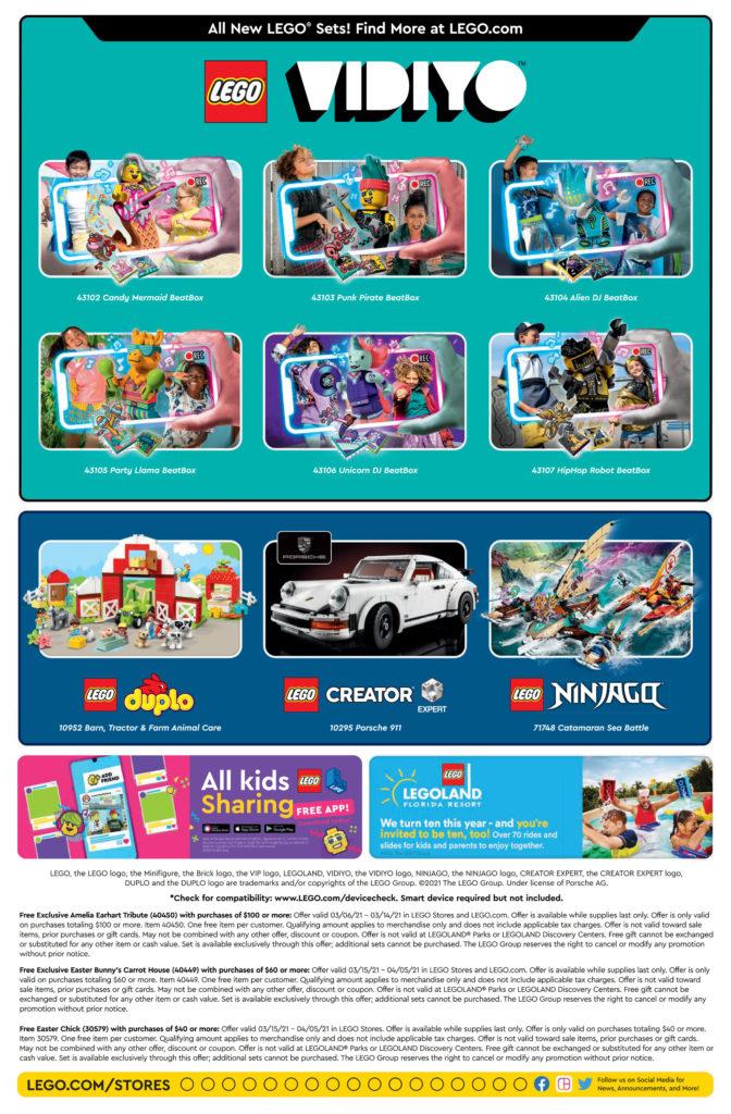 Seite 2 - LEGO Store Kalender März 2021 in USA