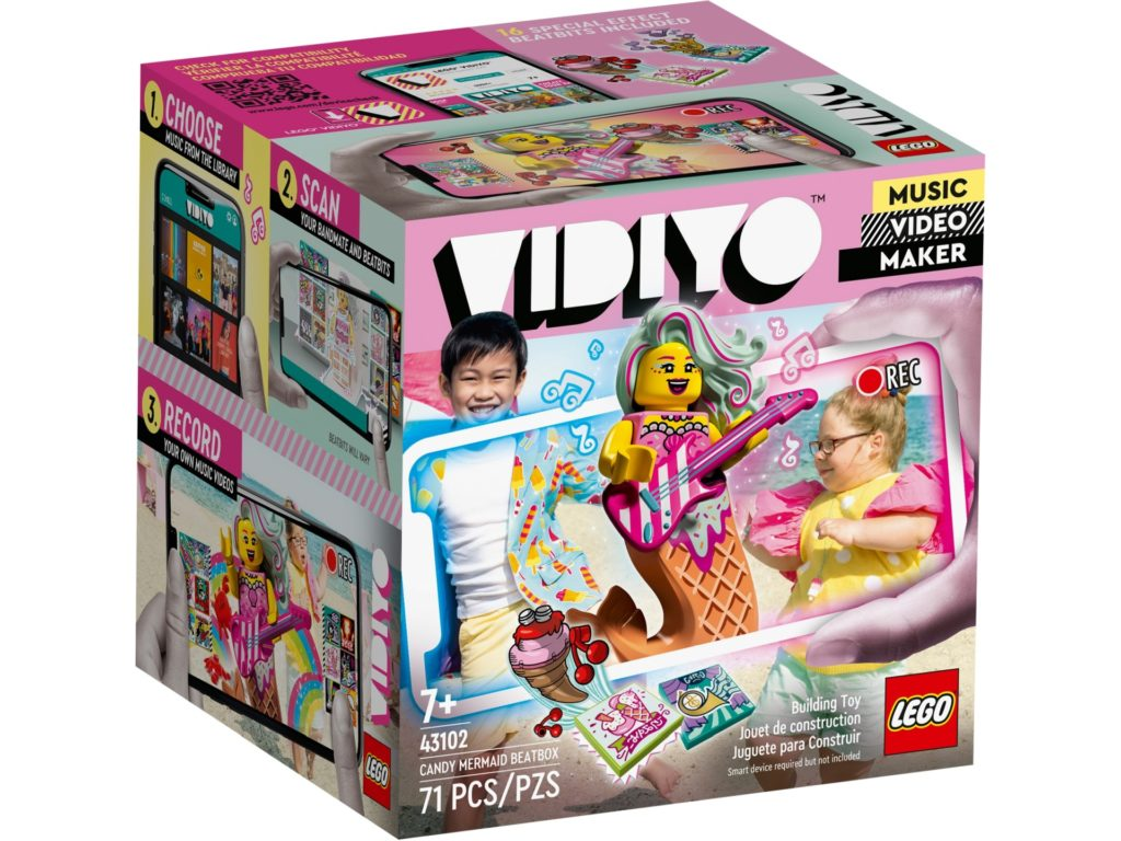 LEGO VIDIYO 43102 Candy Mermaid BeatBox | ©LEGO Gruppe