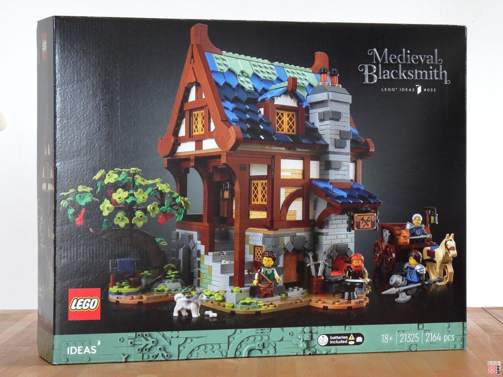 Gewinn - LEGO IDEAS 21325 Mittelalterliche Schmiede   ©Brickzeit