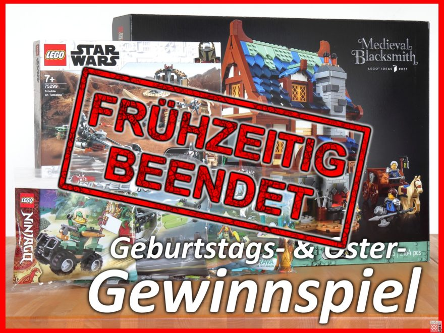 Brickzeit Geburstags- & Ostergewinnspiel beendet | ©Brickzeit