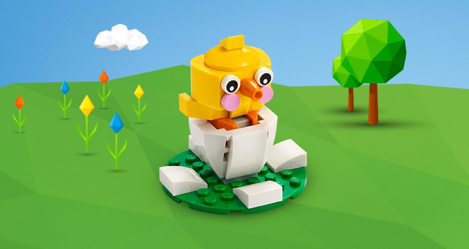 LEGO 30579 Schlüpfendes Kücken | ©Brickzeit
