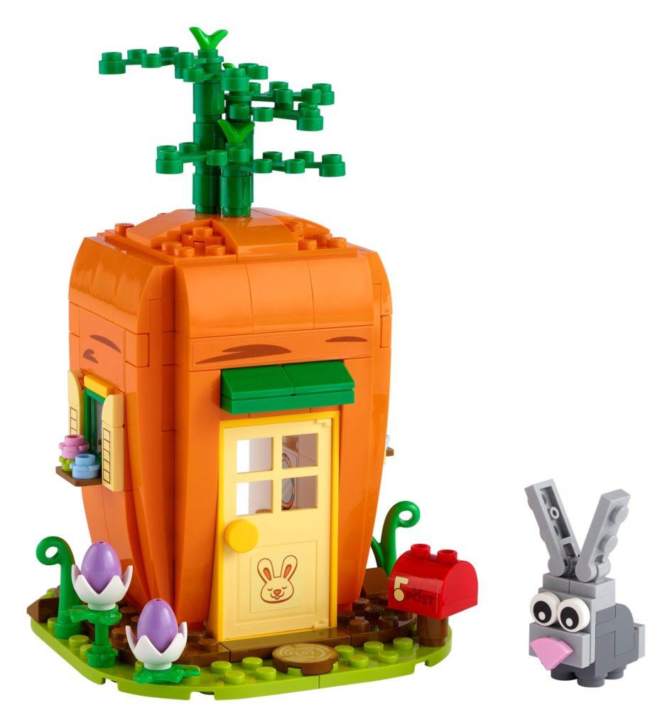 LEGO 40449 Karottenhaus des Osterhasen | ©LEGO Gruppe