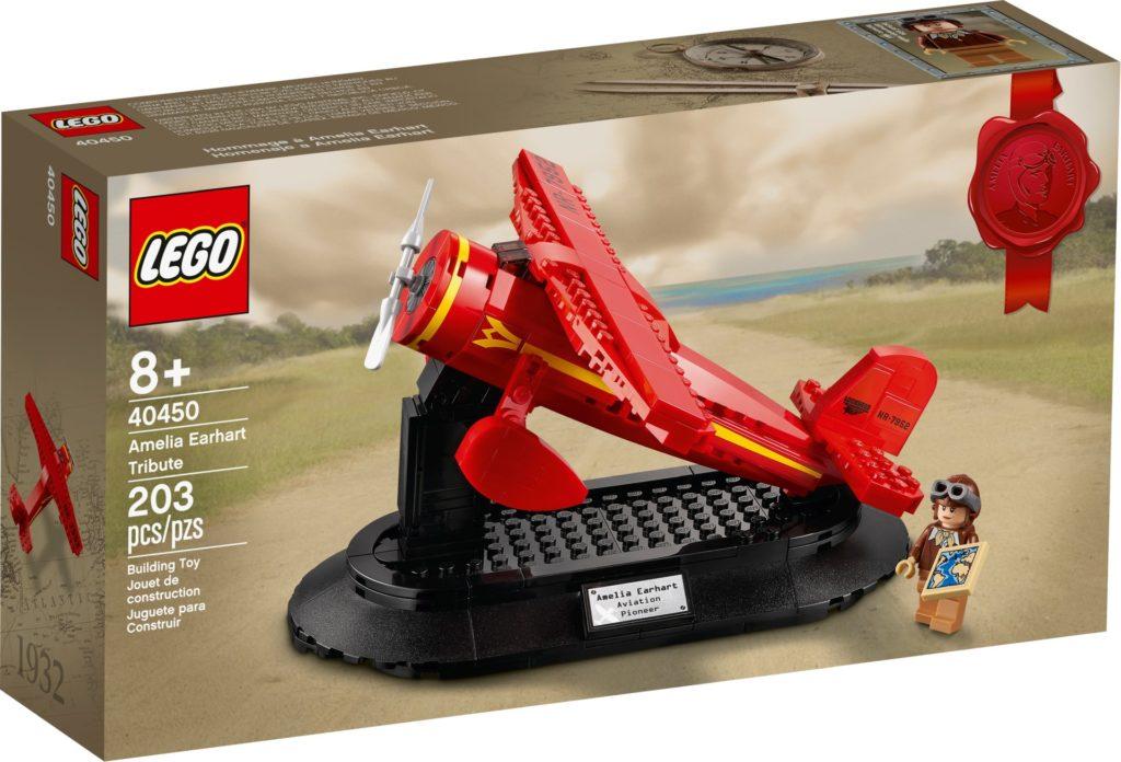 LEGO 40450 Hommage an Amelia Earhart | ©LEGO Gruppe