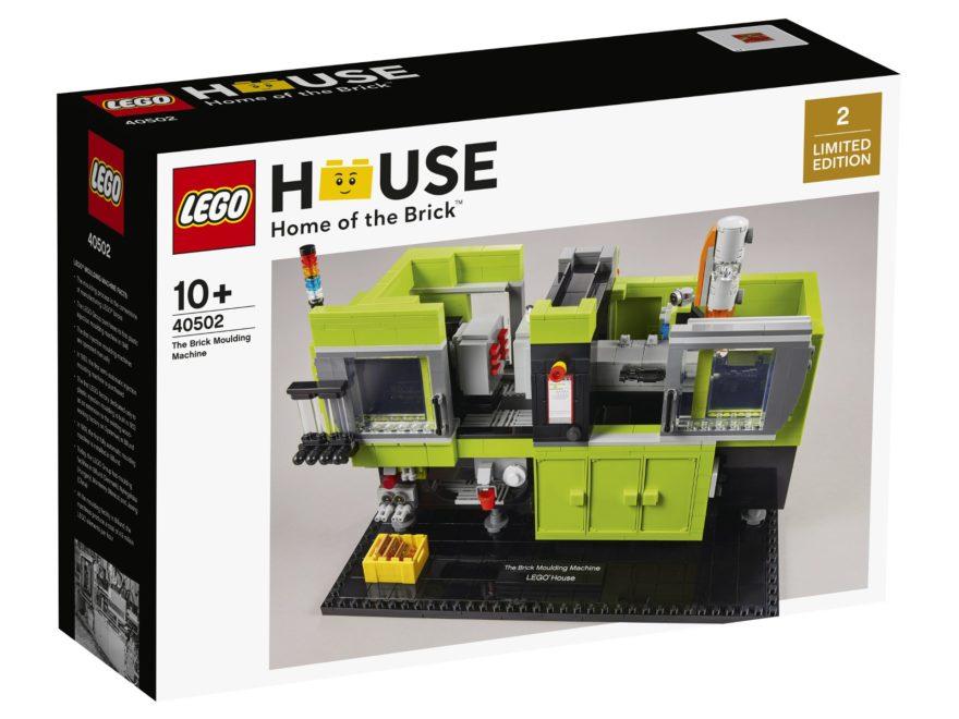 LEGO 40502 The Brick Moulding Machine | ©LEGO House