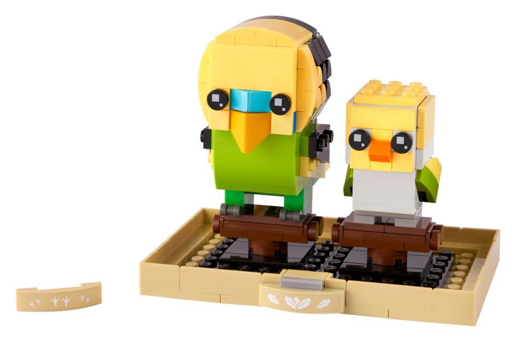 LEGO Brickheadz 40443 Wellensittich | ©LEGO Gruppe