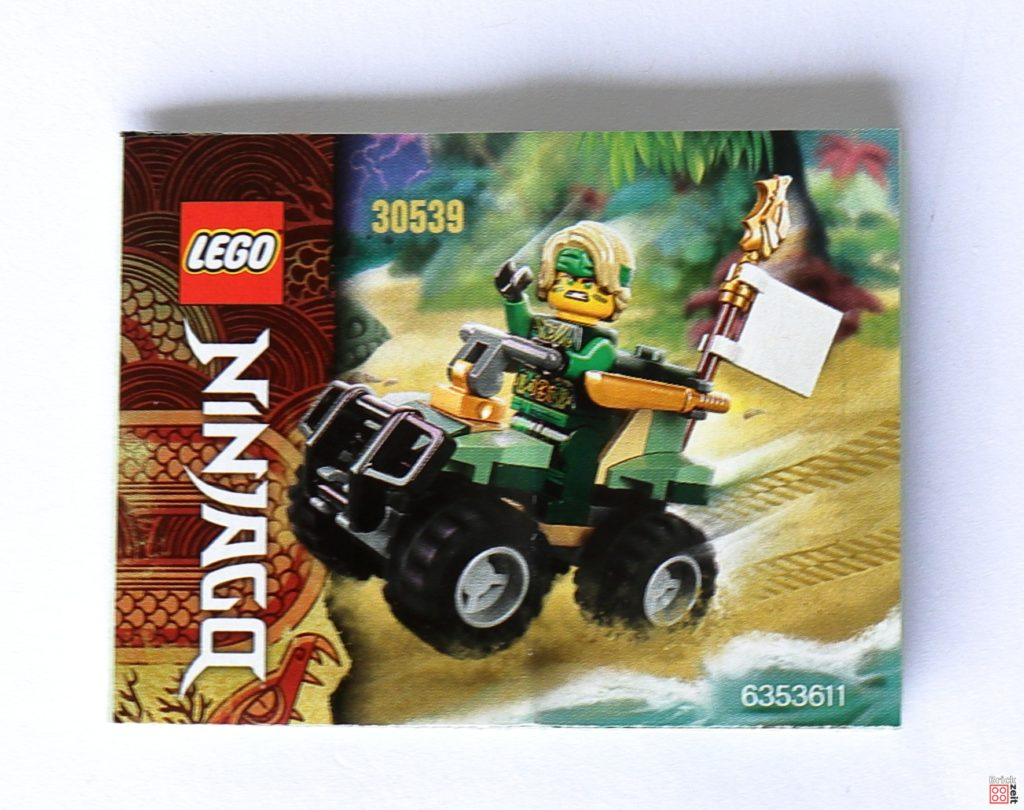 LEGO Ninjago 30539 - Polybag-Inhalt | ©Brickzeit