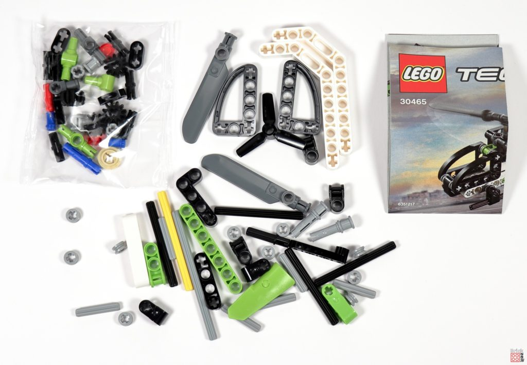 LEGO Technic 30465 Helikopter Polybag Inhalt | ©Brickzeit