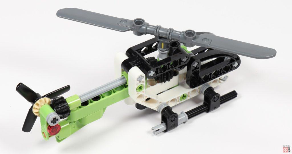 LEGO Technic 30465 Helikopter fertig | ©Brickzeit