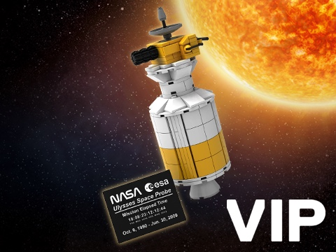 LEGO Ulysses Raumsonde als VIP-Prämie