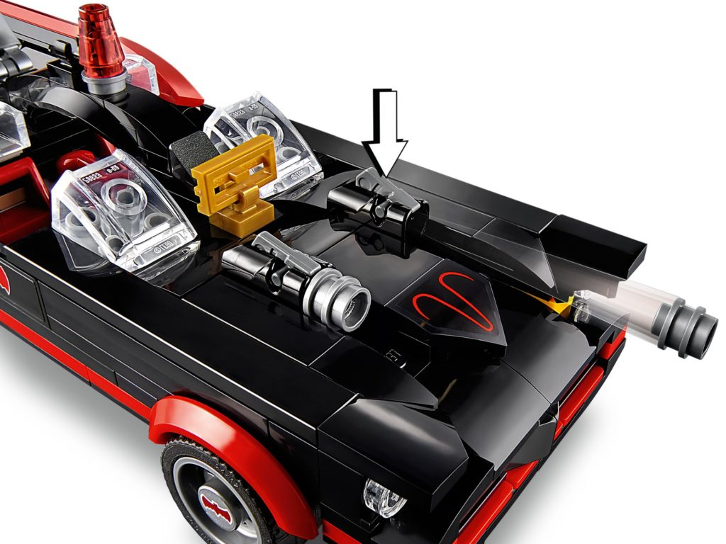 "LEGO 76188 Batmobile aus dem TV-Klassiker ""Batman™"" | ©LEGO Gruppe"