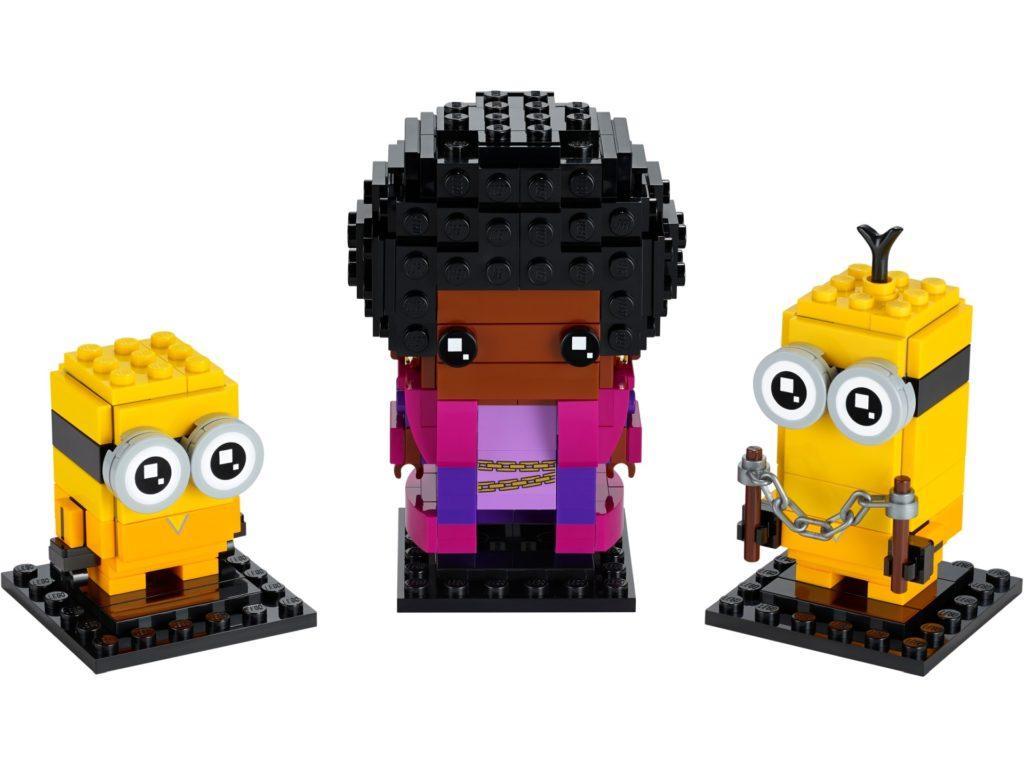 LEGO Brickheadz 40421 Belle Bottom, Kevin & Bob