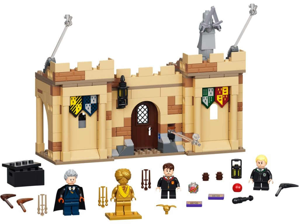 LEGO Harry Potter 76395 Hogwarts™: Erste Flugstunde | ©LEGO Gruppe