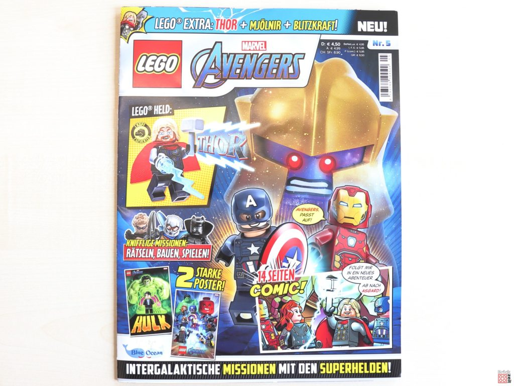 LEGO Marvel Avengers Magazin Nr. 5 mit Thor | ©Brickzeit
