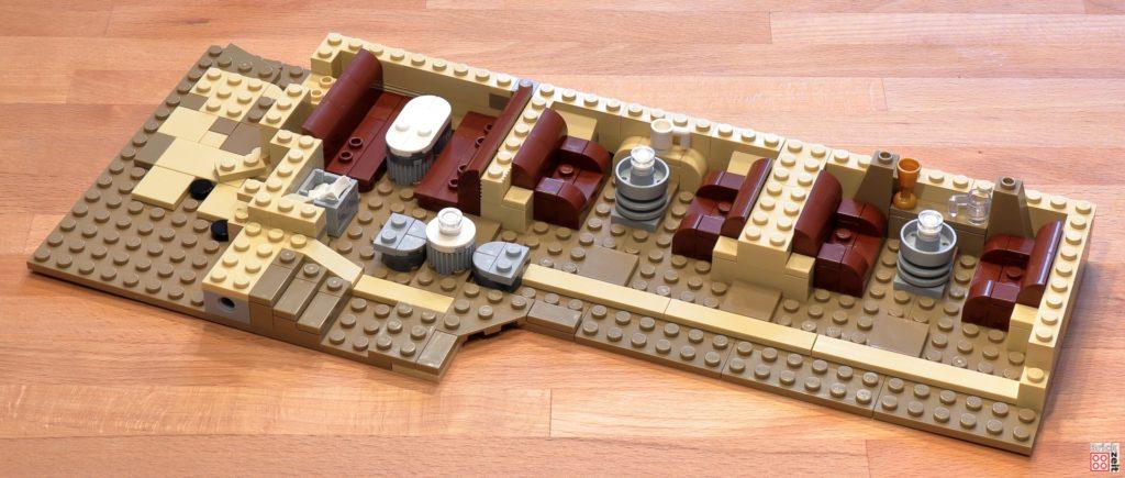 LEGO 75290 - Cantina, Bauabschnitt 4 | ©Brickzeit