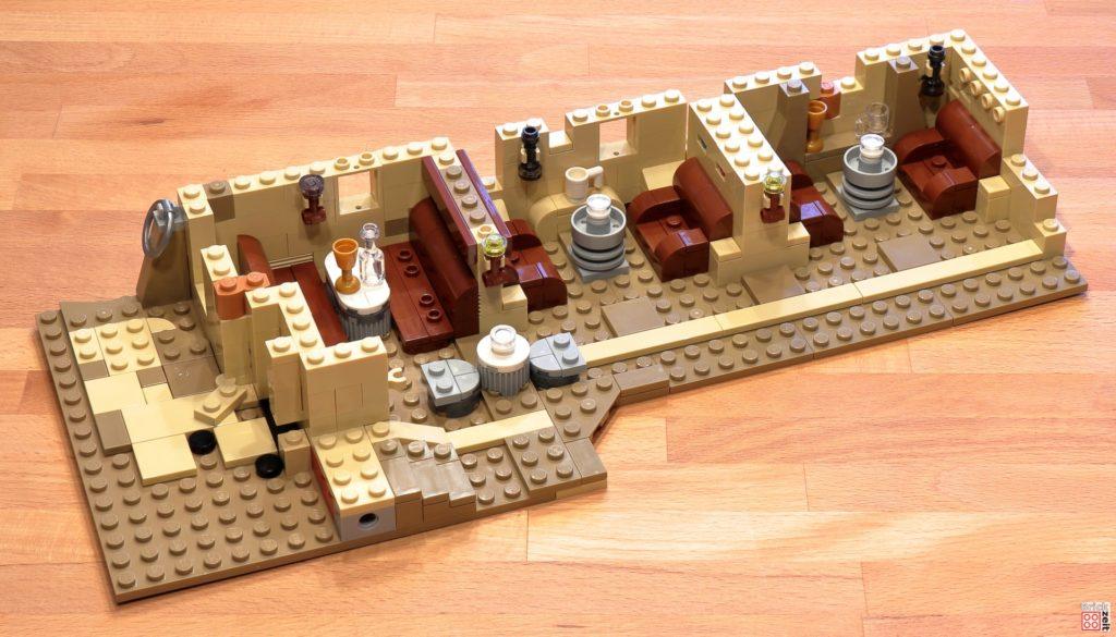 LEGO 75290 - Cantina, Bauabschnitt 5 | ©Brickzeit