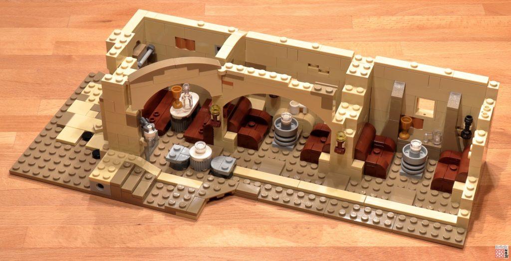 LEGO 75290 - Cantina, Bauabschnitt 7 | ©Brickzeit