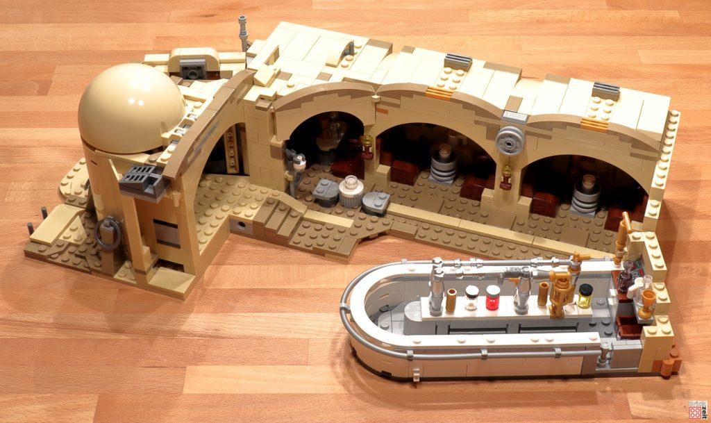 LEGO 75290 - Cantina, Bauabschnitt 9 | ©Brickzeit