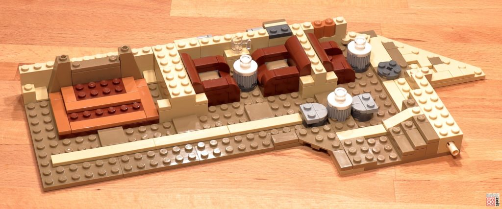 LEGO 75290 - Cantina, Bauabschnitt 10 | ©Brickzeit