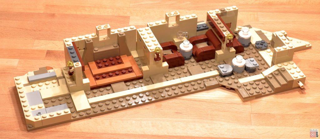 LEGO 75290 - Cantina, Bauabschnitt 11 | ©Brickzeit