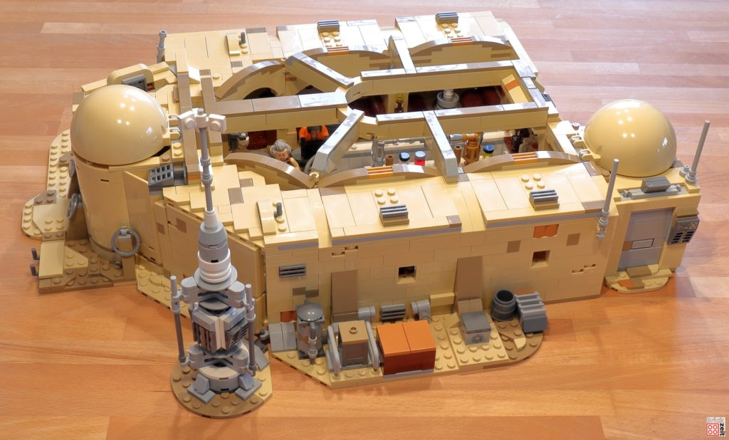 LEGO 75290 - Cantina, Bauabschnitt 15 | ©Brickzeit