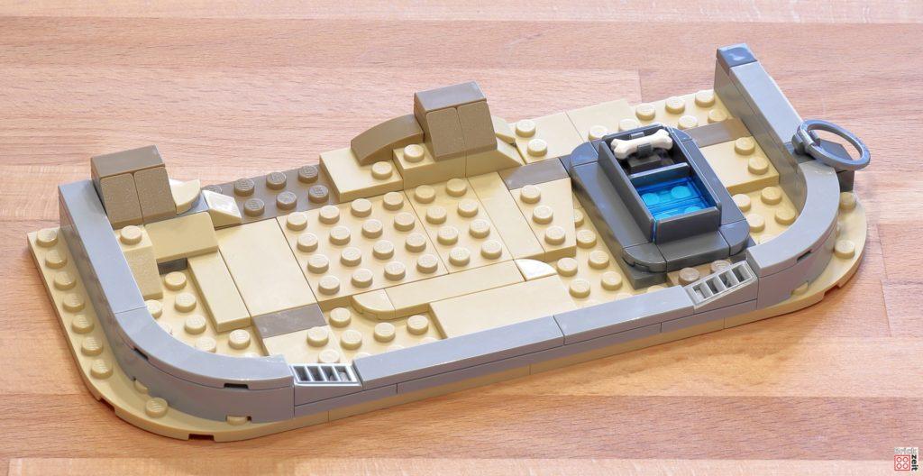 LEGO 75290 - Cantina, Bauabschnitt 16 | ©Brickzeit