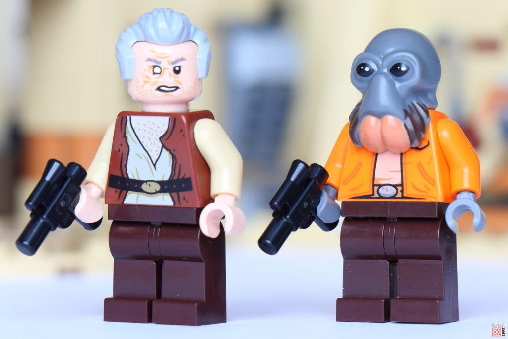 LEGO Star Wars 75290 - Dr. Evazan und Ponda Baba | ©Brickzeit