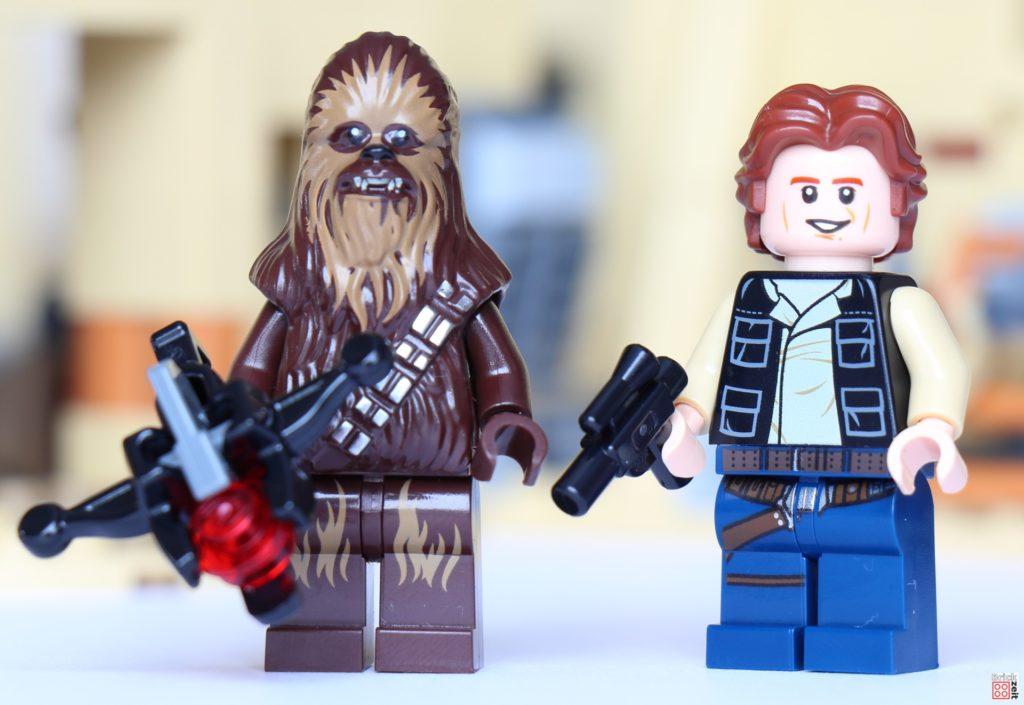 LEGO Star Wars 75290 - Han Solo und Chewbacca | ©Brickzeit