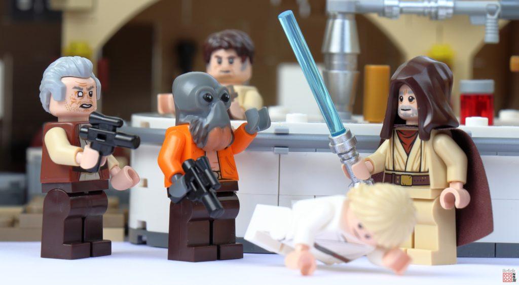 Luke bekommt Ärger | ©Brickzeit