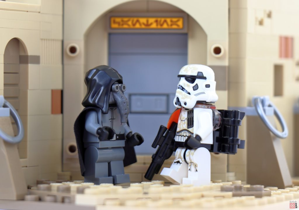Doch das Imperium hat Spitzel | ©Brickzeit
