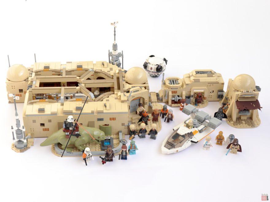 Review - LEGO Star Wars 75290 Mos Eisley Cantina | ©Brickzeit