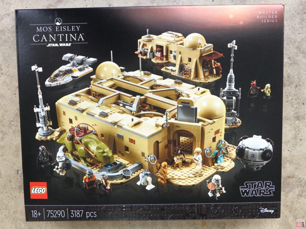 LEGO Star Wars 75290 Mos Eisley Cantina - Packung, Vorderseite | ©Brickzeit