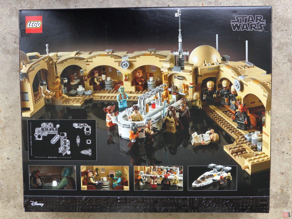 LEGO Star Wars 75290 Mos Eisley Cantina - Packung, Rückseite | ©Brickzeit