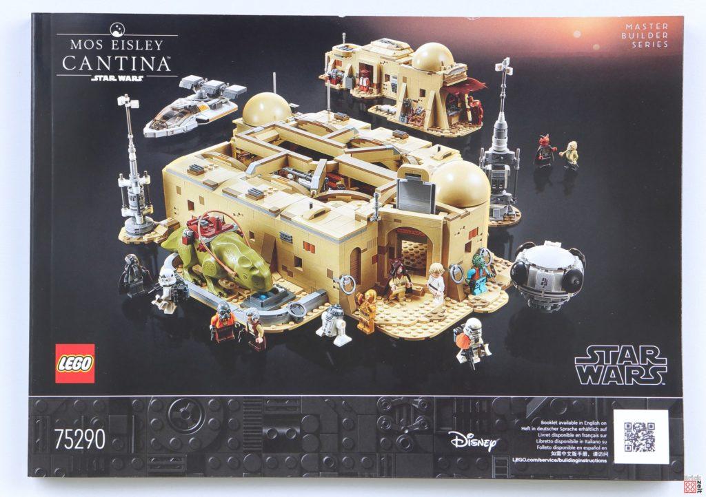 LEGO Star Wars 75290 Mos Eisley Cantina - Anleitung | ©Brickzeit