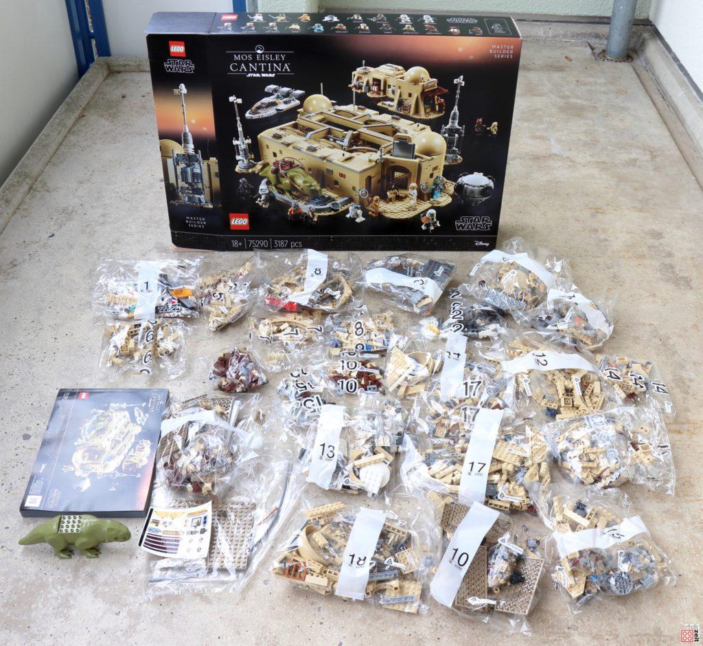 LEGO Star Wars 75290 Mos Eisley Cantina braucht viel Platz | ©Brickzeit