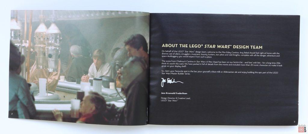 LEGO Star Wars 75290 - Anleitung, Seite 1 | ©Brickzeit