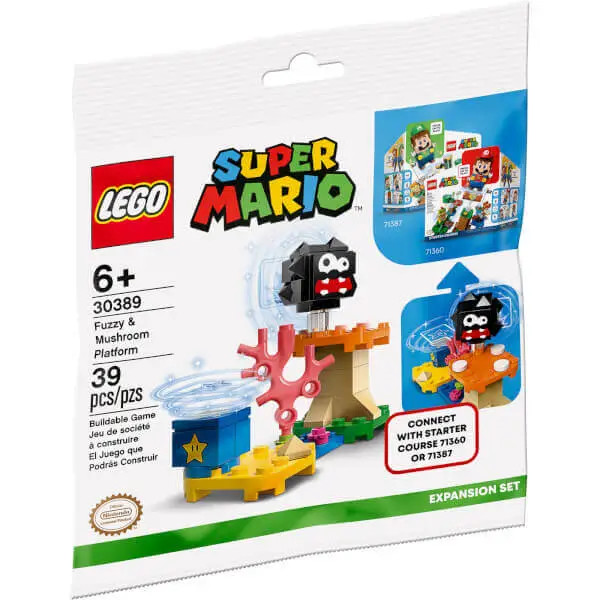 LEGO 30389 Fuzzy & Mushroom Plattform | ©LEGO