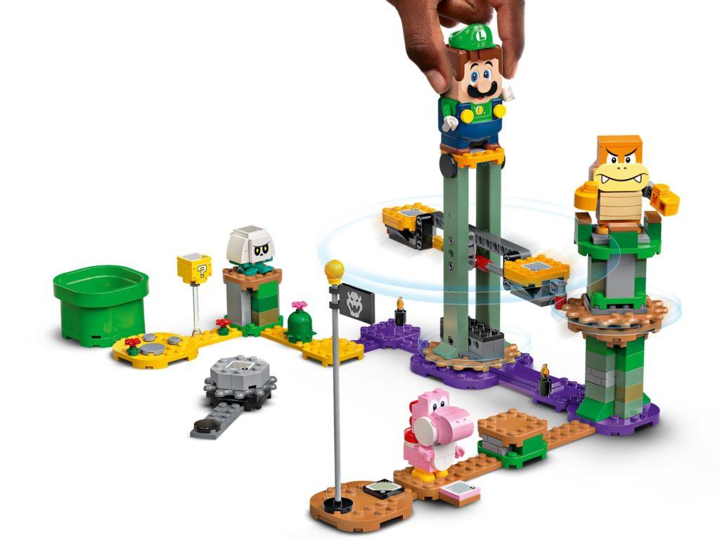 LEGO Super Mario 71387 Abenteuer mit Luigi - Starterset | ©LEGO Gruppe