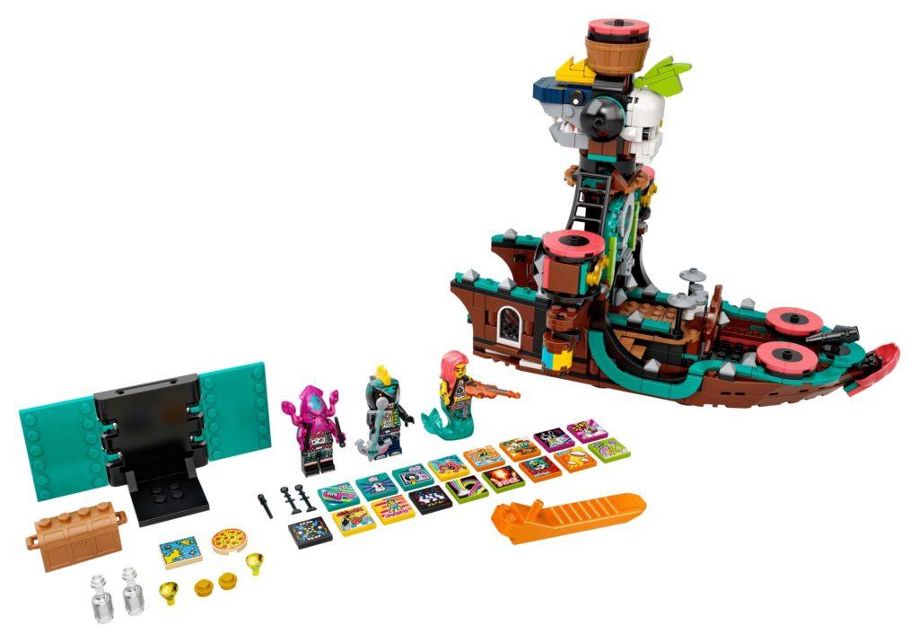 LEGO VIDIYO 43114 Punk Pirate Ship | ©LEGO Gruppe