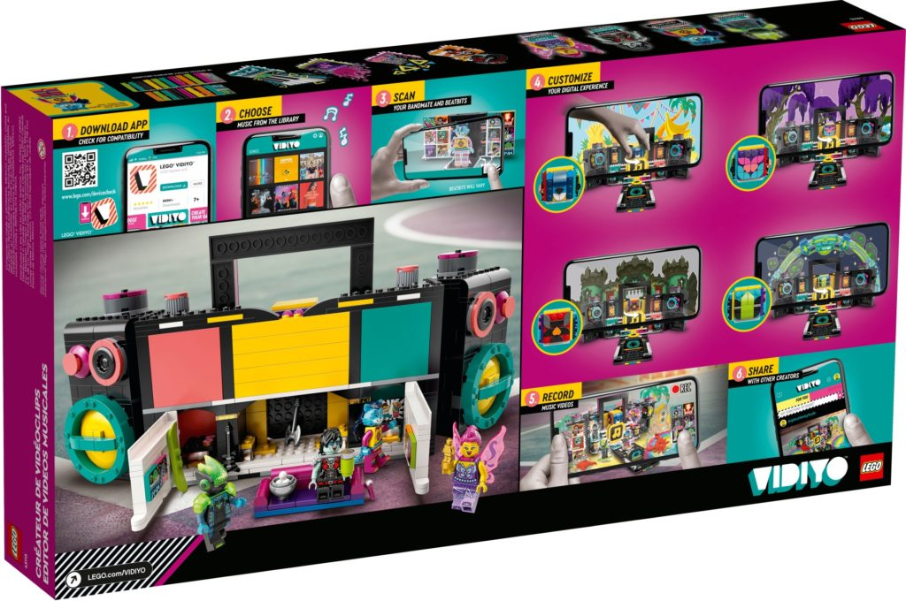 LEGO VIDIYO 43115 Boombox | ©LEGO Gruppe