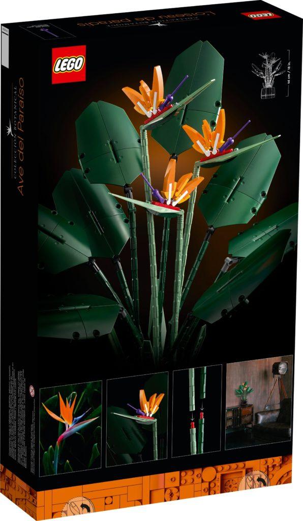 LEGO 10289 Paradiesvogelblume | ©LEGO Gruppe