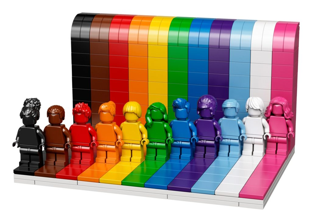 LEGO 40516 Jeder ist besonders   ©LEGO Gruppe