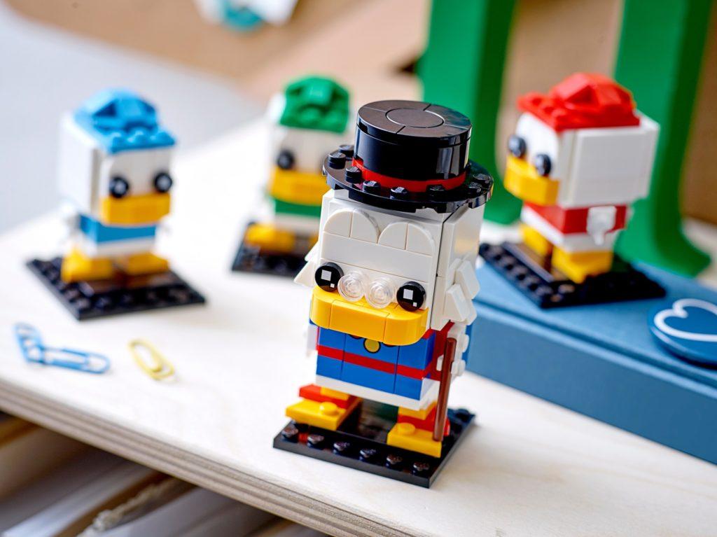 LEGO Brickheadz 40477 Dagobert Duck, Tick, Trick & Track | ©LEGO Gruppe