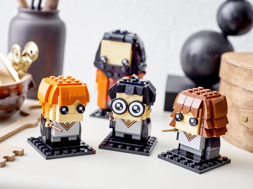 LEGO Brickheadz 40495 Harry, Hermine, Ron & Hagrid | ©LEGO Gruppe