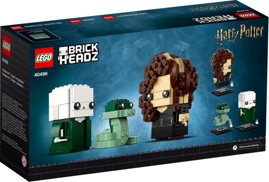LEGO Brickheadz 40496 Voldemort, Nagini & Bellatrix | ©LEGO Gruppe